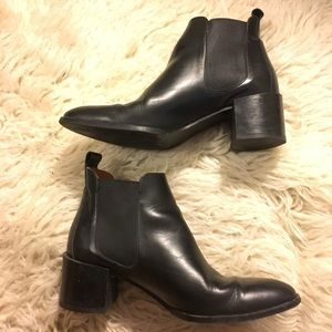 Everlane Black Heel Booties